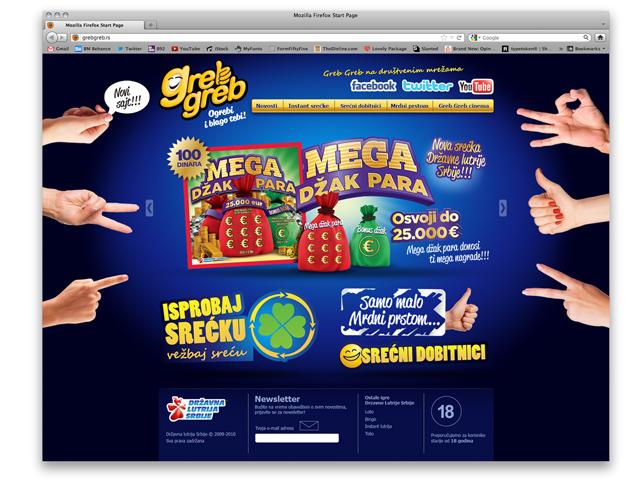 Sajt GREB GREB Home page
